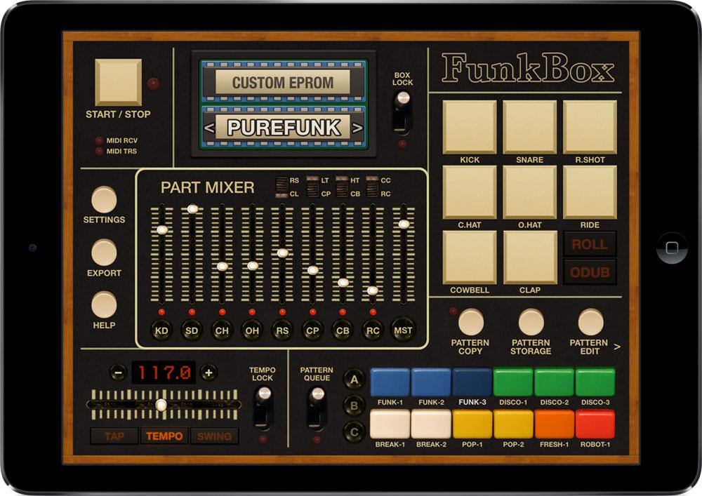 drum machine for